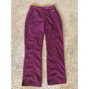 Grey's Anatomy Active Wine Scrub Pants, small tall